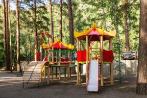 Детская площадка Парк-отель Шишка Горный Алтай
