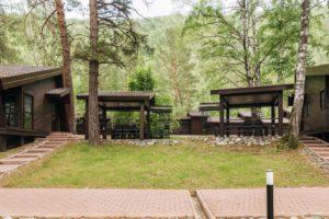 Индивидуальные домики Парк-отель Шишка Горный Алтай